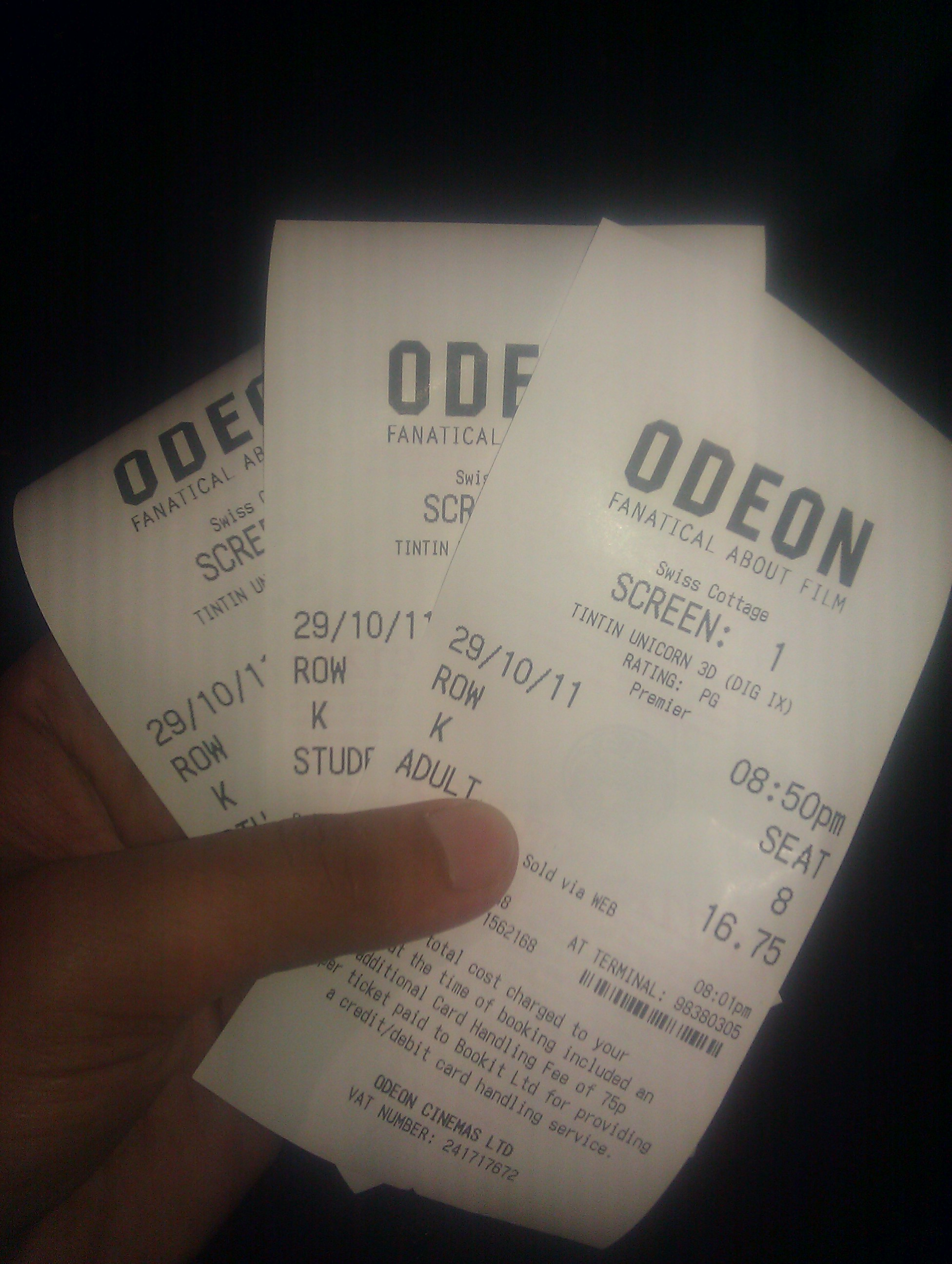 Odeon Imax Swiss Cottage Review The Adventures Of Tintin